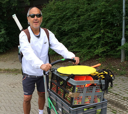 Tenniscoach