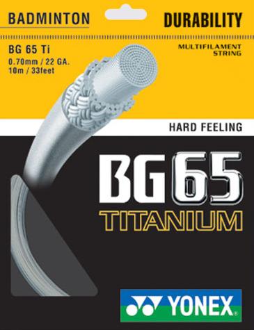 Yonex BG65 Titanium